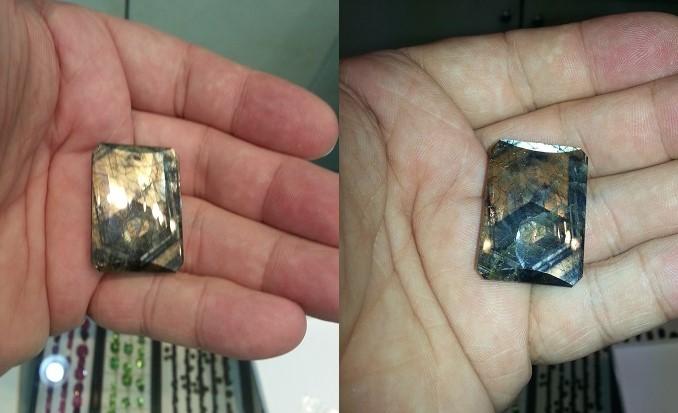 Gold Sheen Sapphire