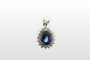 Sapphire Pendant 3.5ct