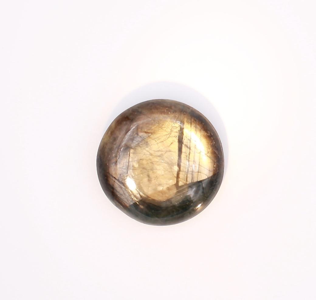 Gold Sheen Sapphire Collectors Piece