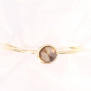 Designer Gold Sheen Sapphire Ring