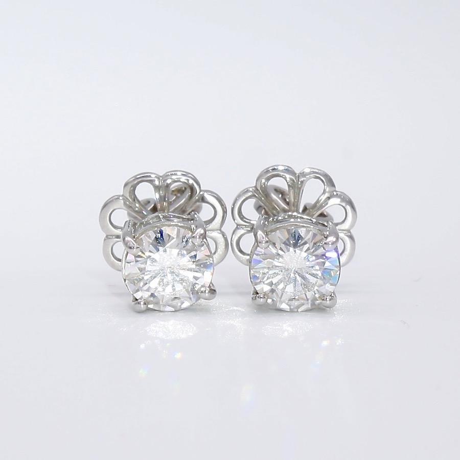 Moissanite Earrings